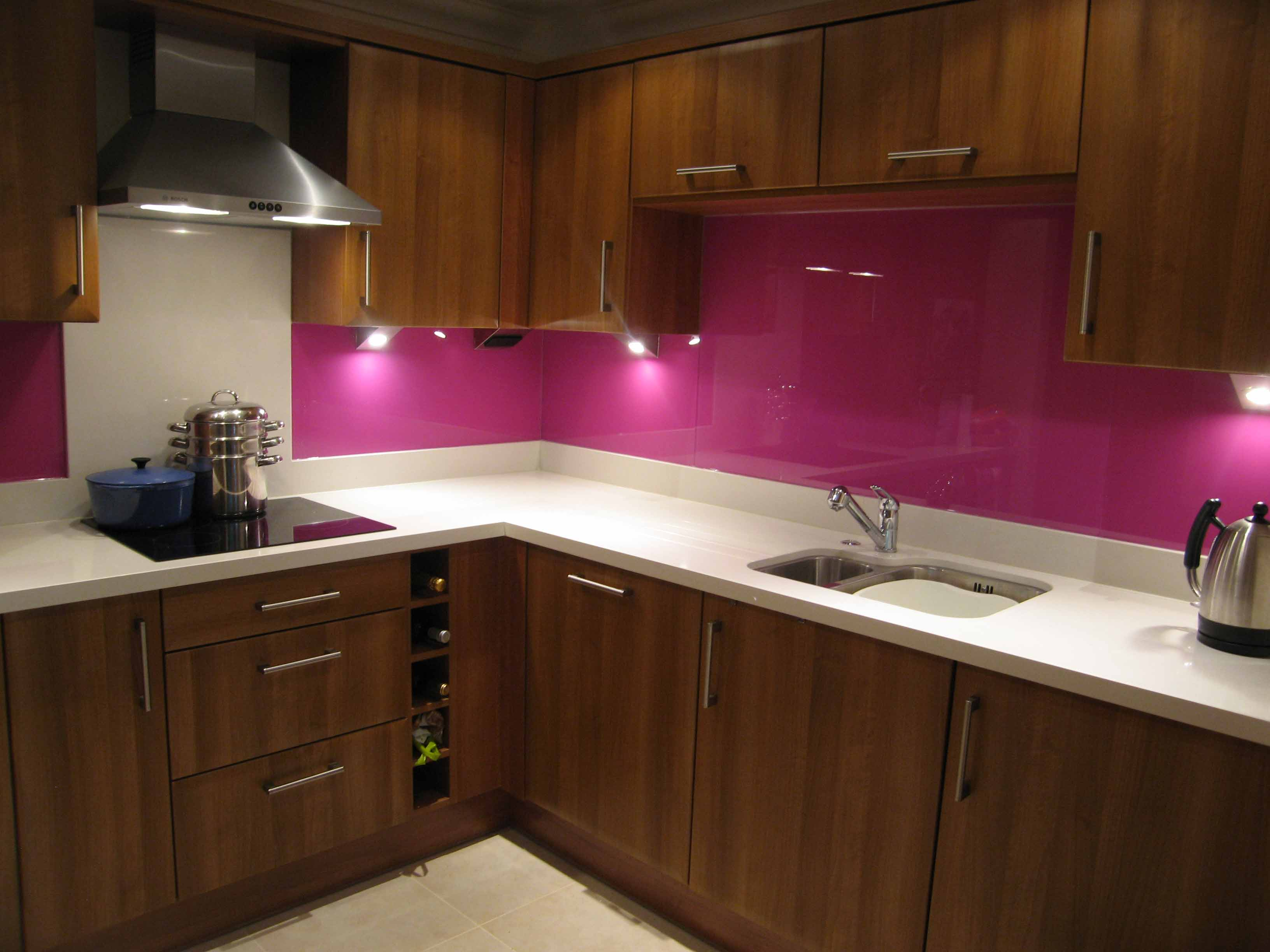 Kitchen Glass Splashbacks Woodside Park
